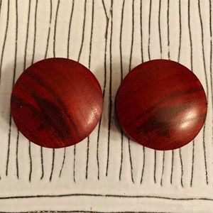"1 1/8"" (29mm) Wood Double-flared Plugs"